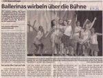 Ballerinas wirbeln über die Bühne